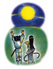 夫婦神様が開いた月原