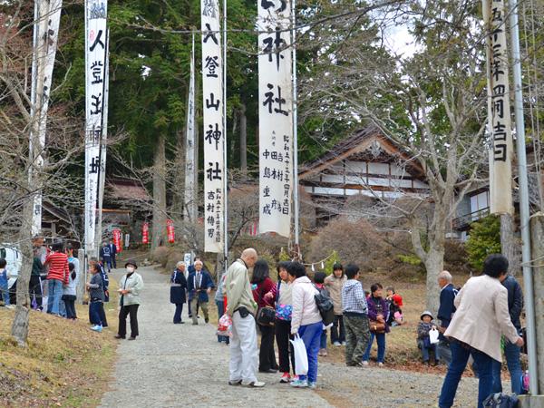 入登山神社 秋の例大祭 10月15日(日)