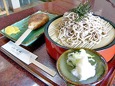 レスト秋桜 親田辛味大根おろしざる五平定食