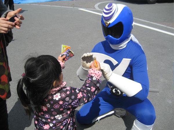 ローカルヒーロー大活劇!道の駅信濃路下條お客様感謝デー2018