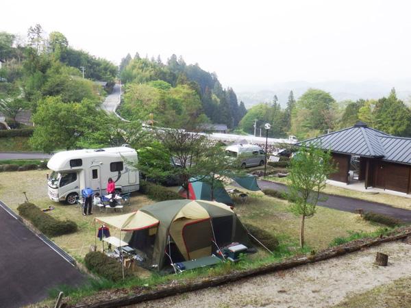 下條親水公園オートキャンプ場
